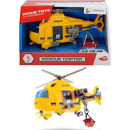 """Спасательный вертолет Dickie Toys """"Action Series"""" со светом и звуком, 18 см от Dickie Toys"""