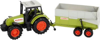 Claas Traktor mit Anhänger