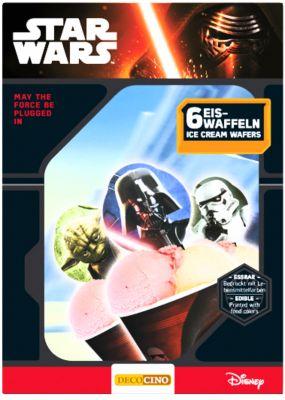 Eiswaffeln Star Wars, 6 Stück