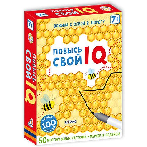 """Развивающие карточки """"Повысь свой IQ"""" от Робинс"""