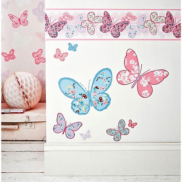 Wandsticker Schmetterlinge, 25 x 70 cm, Decofun | myToys