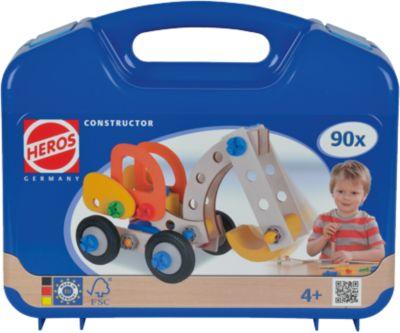 HEROS Constructor Bagger, 90-tlg.