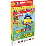 """Цветные карандаши """"Maxi"""" 12 цветов, Play-Doh"""