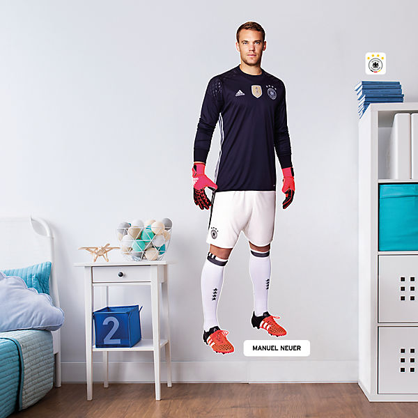 Wandsticker Xxl Manuel Neuer 60 X 190 Cm Deutscher Fussball Bund