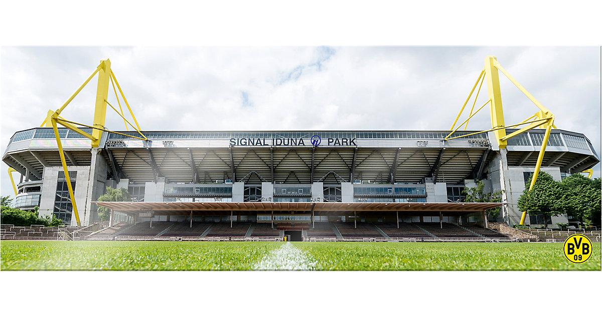 Wandbild BVB Signal Iduna Park bei Tag Panorama...