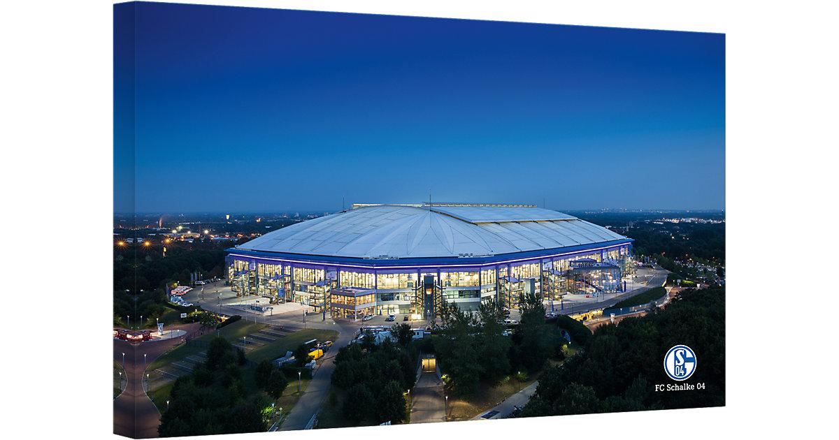 Leinwandbild FC Schalke 04 - Arena 02, 120 x 80 cm