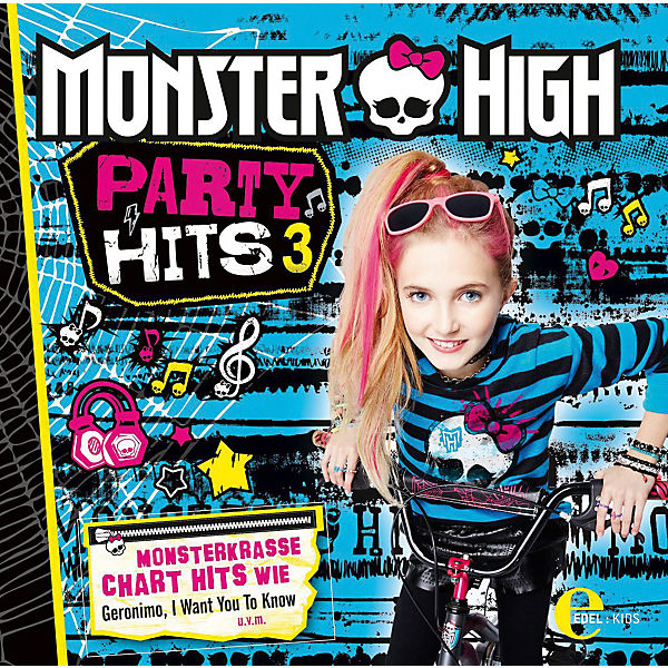 CD Monster High - Party Hits 3