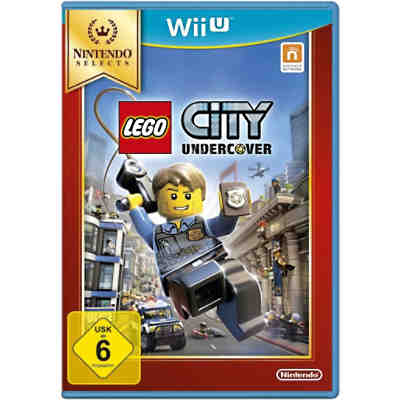 Wii U LEGO City Undercover (Selects)