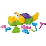 """Набор для игр с песком """"Крокодил"""", 9 предм., Hualian Toys"""