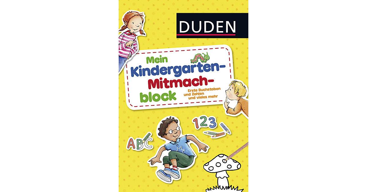 Duden Mein Kindergarten-Mitmachblock