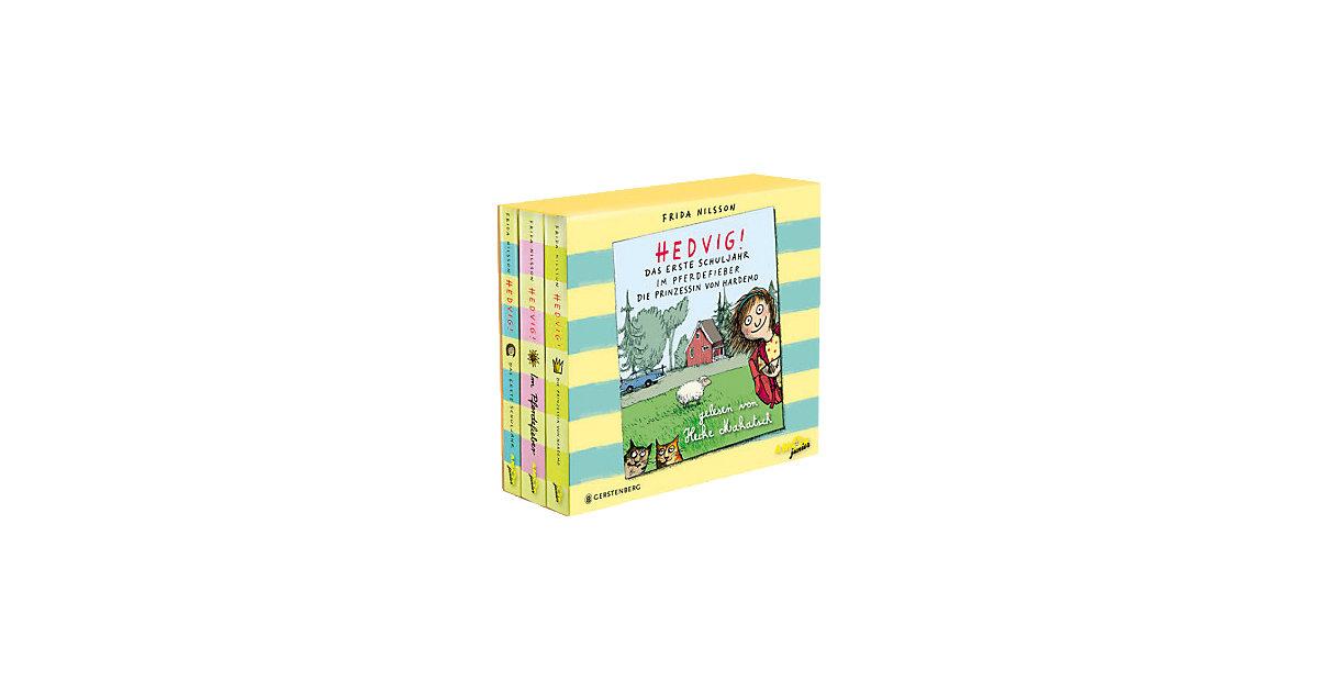 Hedvig! Geschenkbox, 8 Audio-CDs