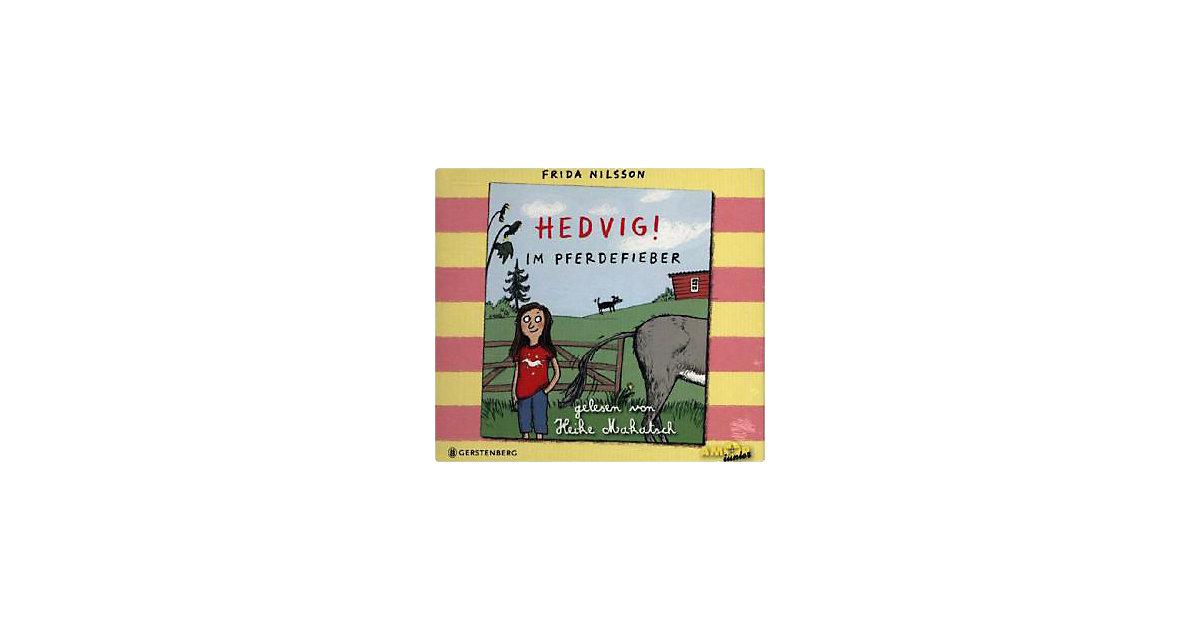 Hedvig! Im Pferdefieber, 3 Audio-CDs