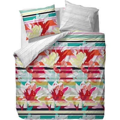wende bettw sche floria baumwolle satin 135x200 1x80x80cm esprit mytoys. Black Bedroom Furniture Sets. Home Design Ideas