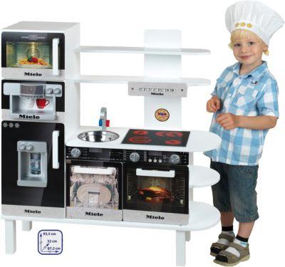 Miele Küche Kinder | Spielkuche Aus Holz Miele Klein Mytoys