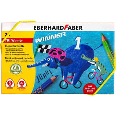 Buntstiftebox TRI Winner, 24-tlg.