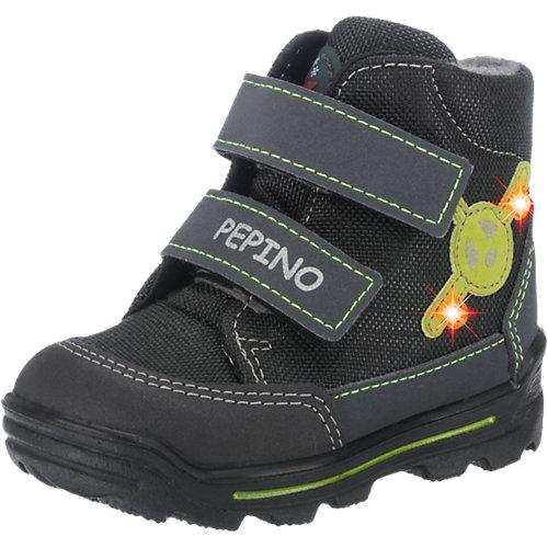 PEPINO by RICOSTA Kinder Winterstiefel Blinkies, Sympatex, Weite W für breite Füße Gr. 22 Jungen Kleinkinder Sale Angebote Sargstedt