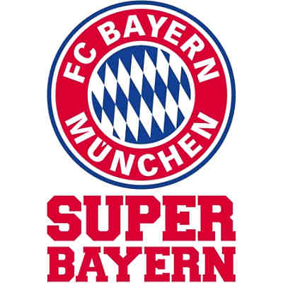 wandsticker fc bayern m nchen logo fu ballverein fc bayern m nchen mytoys. Black Bedroom Furniture Sets. Home Design Ideas