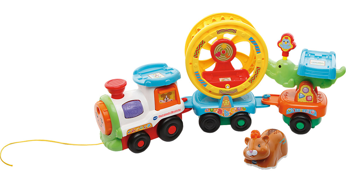 Tip Tap Baby Tiere - Kunterbunte Eisenbahn