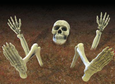 9 Bodendeko-Teile Skelett
