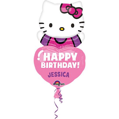 Amscan Folienballon Hello Kitty personalisierbar