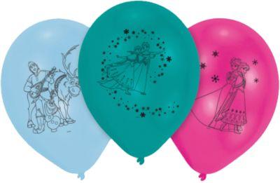 Bauarbeiter Luftballons 5 Stk