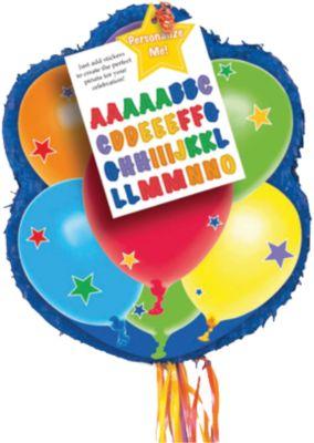 Pull Pinata Luftballons, personalisierbar