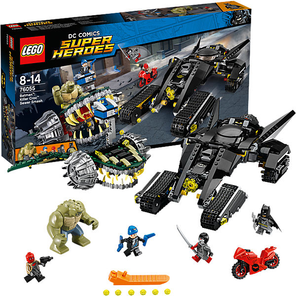 LEGO 76055 Super Heroes: Batman™: Killer Crocs™ Überf..