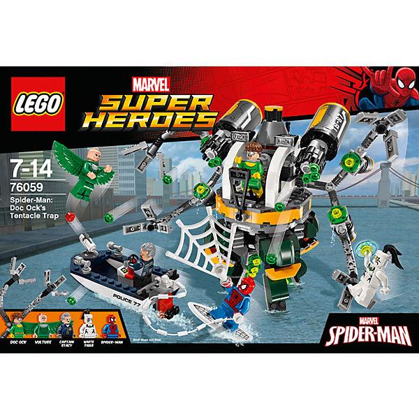 LEGO Super Heroes 76059: Человек-паук: в ловушке Доктора Осьминога