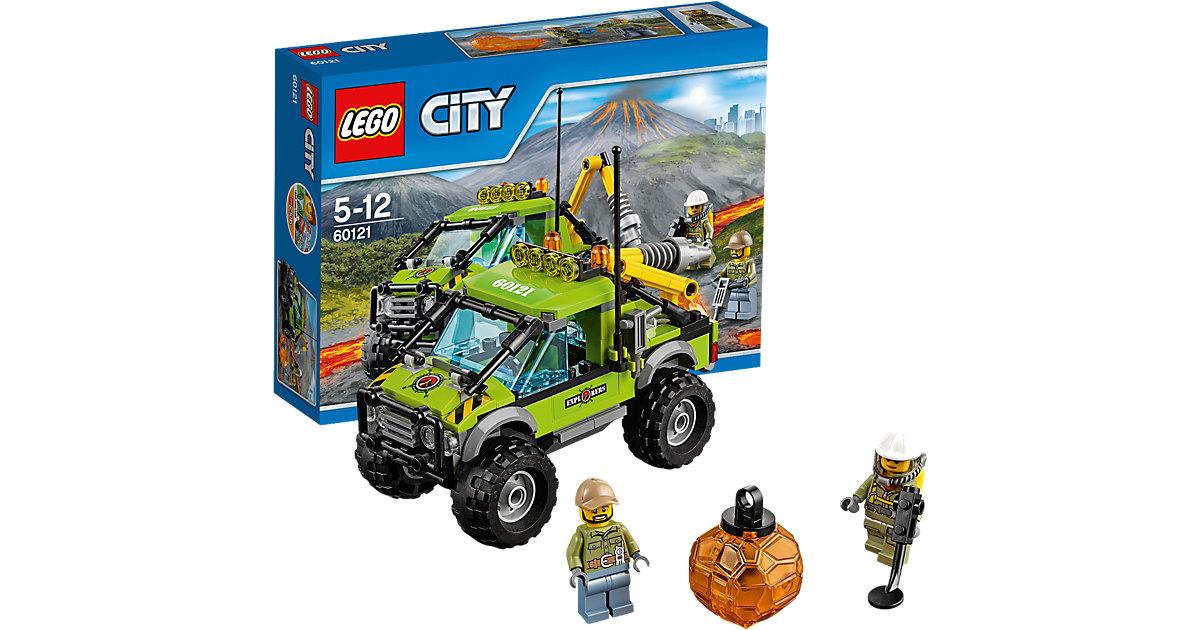 LEGO 60121 City: Vulkan-Forschungstruck