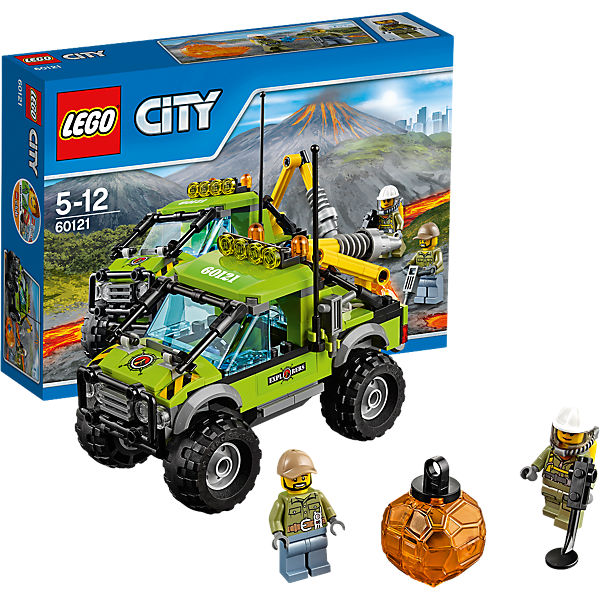 LEGO 60121 City: Vulkan-Forschungstruck