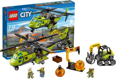LEGO 60123 City: Vulkan-Versorgungshelikopter