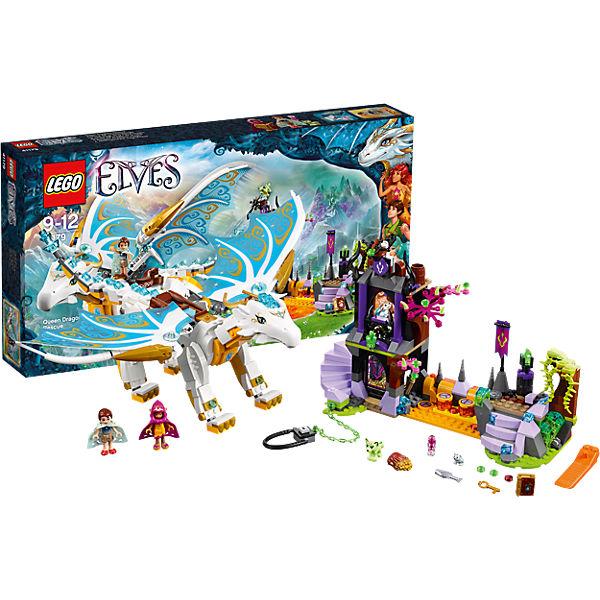 lego 41179 elves rettung der drachenkönigin lego  mytoys