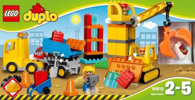LEGO 10813 DUPLO: Große Baustelle
