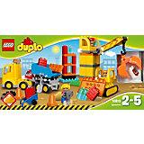 LEGO DUPLO 10813: Большая стройплощадка