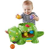 """Развивающая игрушка Fisher Price """"Динозавр с  шариками"""""""