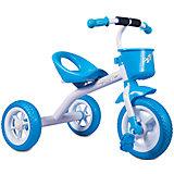 Трехколесный велосипед Zilmer Сильвер Люкс, голубой