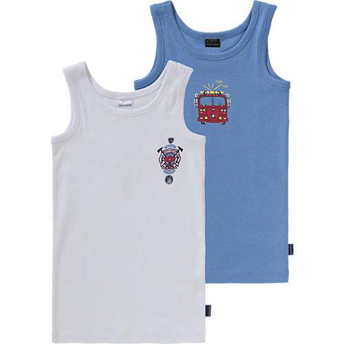SCHIESSER Unterhemden Doppelpack Gr. 128 Jungen Kinder Sale Angebote Nievern