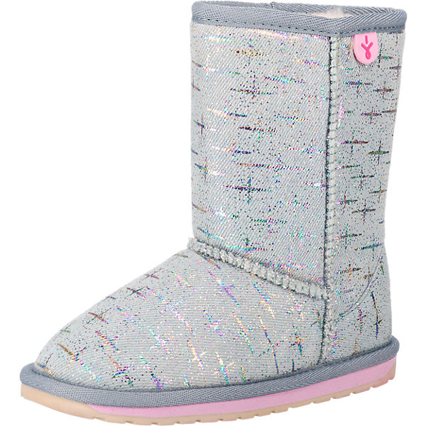 Kinder Winterstiefel SPARKLE DENIM