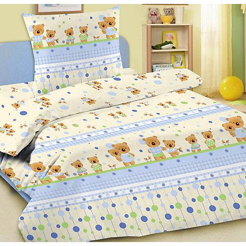Детское постельное белье 3 предмета Letto, простыня на резинке, BGR-15 от Letto