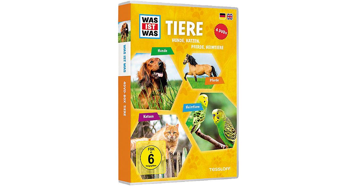 DVD Was ist Was - Tiere - Box2