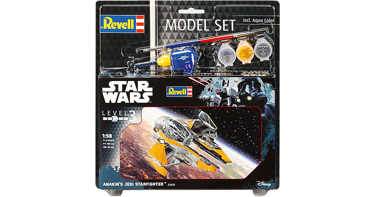 Revell Modellbausatz - Model Set Star Wars Anakin´s Jedi Starfighter