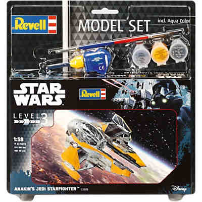 Revell Modellbausatz - Model Set Star Wars Anakin's Jedi Starfighter