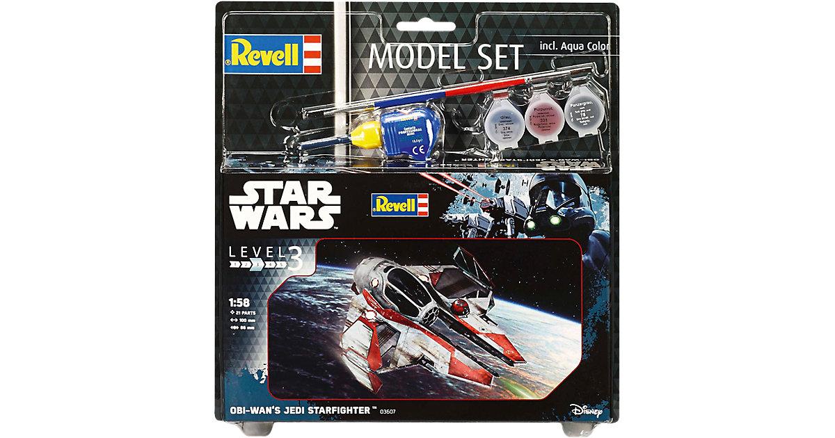 Revell Modellbausatz - Model Set Star Wars Obi Wan´s Jedi Starfighter
