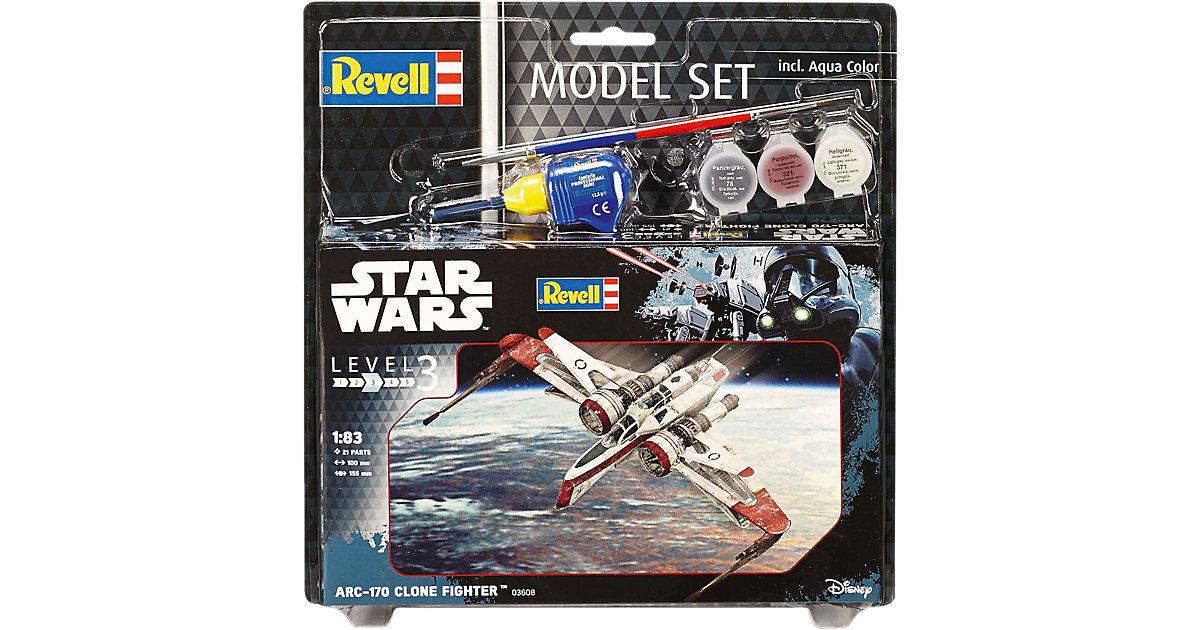 Revell Modellbausatz - Model Set Star Wars ARC-170 Fighter