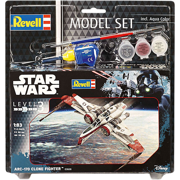 Revell Modellbausatz - Model Set Star Wars ARC-170 Fighter