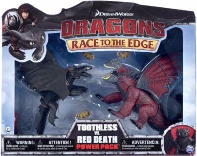 Dragons - Deluxe Dragons Legends Battle Pack - Ohnezahn & der rote Tod