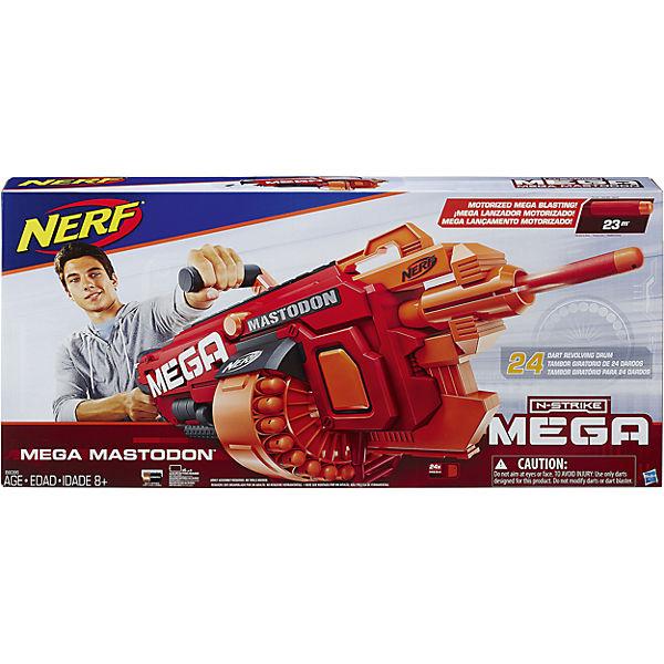 """Бластер Мега """"Мастодон"""" 24 стрелы, NERF"""