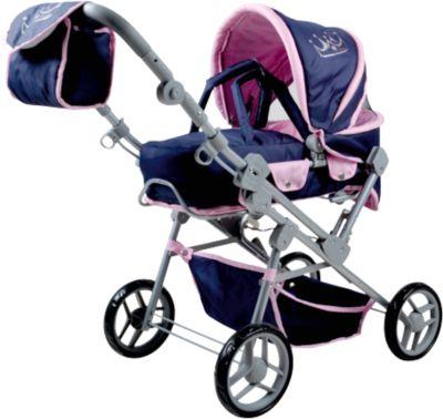 Puppenwagen Kombi Mioux Princess - Exklusivartikel