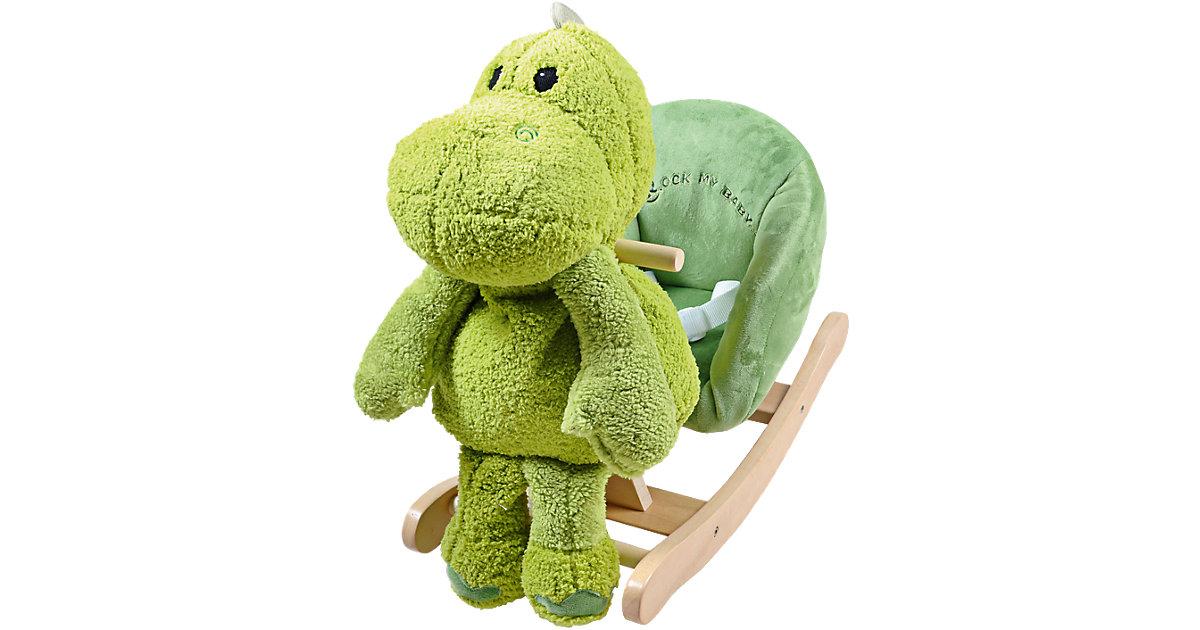 Knorr Toys · Schaukeltier Dino Nelson mit abnehmbarem Stofftier inkl. Gurt