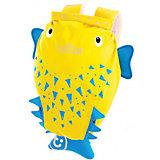 """Рюкзак для бассейна и пляжа Trunki """"Рыба-пузырь"""", желтый"""